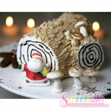 Vanilla Yule Log