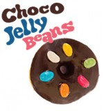 Choco Jelly Beans Donut  (6 pcs pack)