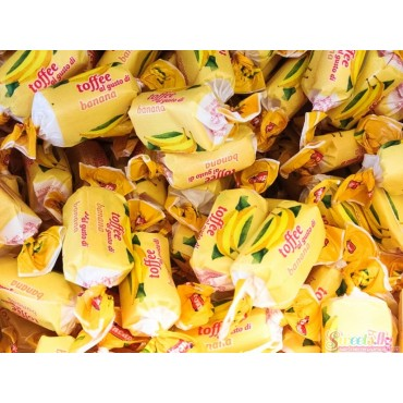 Banana Chewy Toffees (100g)