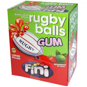 Rugby Ball Ball Bubble Gum  200pcs Pack
