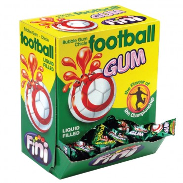 Foot Ball Gum  Bubble Gum  200pcs Pack