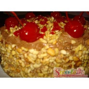 Chocolate Cherry Brandy Cake