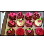 Vanilla Cupcakes (12 pcs)