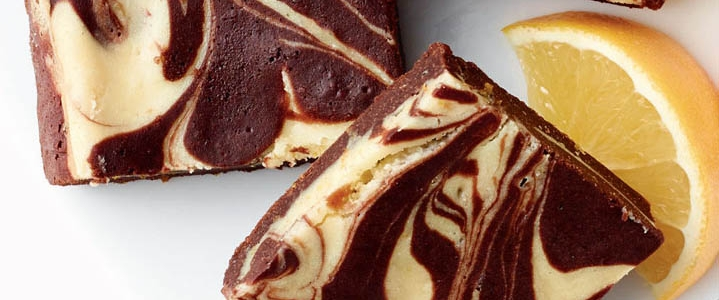 Chocolate Orange Cheesecake Swirl Brownies