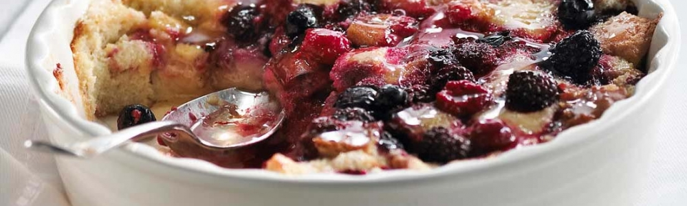 How to make Honey Berry Breakfast Bread Pudding